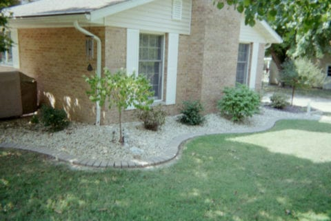 landscaping & rock bed highland il
