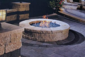 gas fire pit highland il