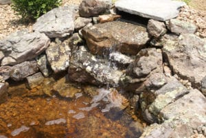 waterfall water feature highland il