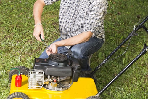 lawn mower maintenance highland il