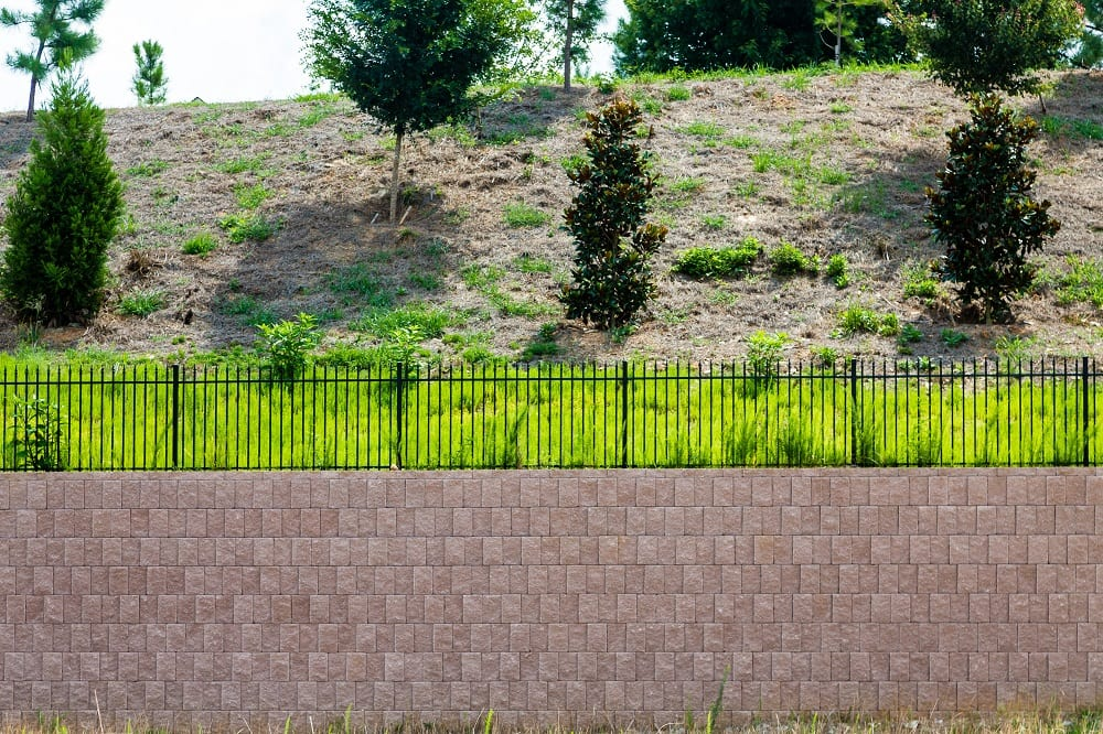 block retaining wall maryville il